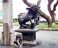 台北新公園石獅 Stone Lions in Taipei New Park - panoramio.jpg