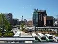 大和八木駅南口 近鉄大阪線ホームより South square of Yamato-Yagi station 2011.7.17 - panoramio.jpg
