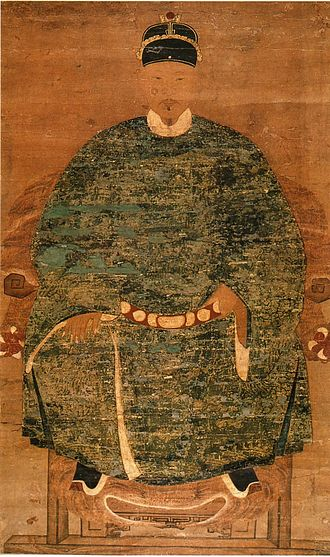 Hāfu - Koxinga, Chinese monarch