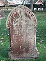 -2019-11-13 Headstone of Frederick Charles Clark, died March 8 1907 age 20, Trimingham churchyard.JPG