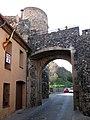 006 Carrer Major, portal i torre de Barcelona, Can Fortuny (Hostalric).jpg