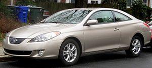 Toyota Camry Solara - Image: 04 06 Toyota Solara SE coupe