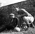 09.1962. Joueurs du Stade. Abadie et vieux supporters. (1962) - 53Fi4641.jpg