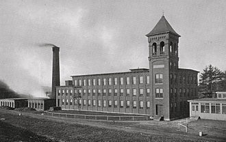 Winchendon, Massachusetts - A second mill in Winchendon Springs on Glenallan Street was operational from 1886 until closing in 1929, during the economic decline of the Great Depression