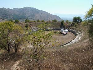 Alba Fucens - Amphitheatre of Alba Fucens