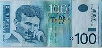 100 Dinars from Republic of Serbia.jpg