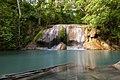 1012 - Erawan Waterfall, 2nd floor - Waterfall in Si Sawat.jpg