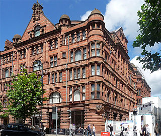 107 Piccadilly building on Lena Street in Manchester, England