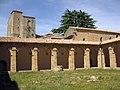 115 Abadia de Santa Maria, claustre, galeria nord.jpg