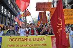 Manifestación del PNO.