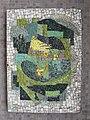 1210 Autokaderstraße 3-7 Tomaschekstraße 44 Stg 50 - Smaltenmosaik-Hauszeichen Abstrakte Komposition von Edda Mally 1968 IMG 1345.jpg
