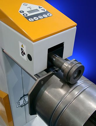 Swaging - Rotary swaging machine
