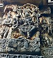 12th-century Nataraja dancing on demon at Shaivism Hindu temple Hoysaleswara arts Halebidu Karnataka India.jpg