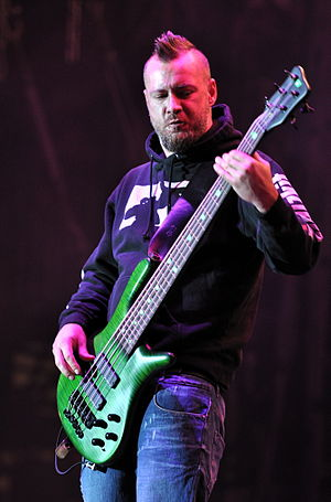 Sam Rivers (bassist) - Sam Rivers with Limp Bizkit