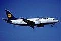 130be - Lufthansa Boeing 737-530; D-ABIB@ZRH;29.04.2001 (5163705753).jpg