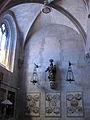 131 Església de Santa Maria, capella amb la imatge de la Mare de Déu del Roser.jpg