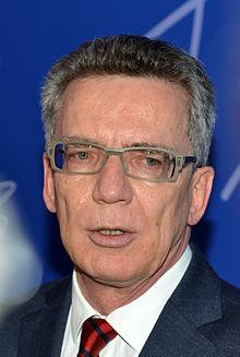 Thomas de Maizière, en janvier 2014.