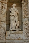 14.25 Sophia (Wisdom) in the Celsus Library in Ephesus.JPG