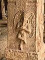 15th-16th century Achyutaraya temple yoga asana 11, Hampi Hindu monuments Karnataka.jpg