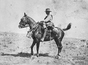15th Light Horse Regiment (Australia) - A trooper of the 15th Light Horse Regiment