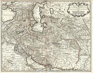 Gulashkird, Iran - Map of Persia 1724