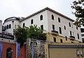 177 Hotel Estrac (Caldes d'Estrac), des de la Riera.JPG