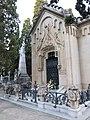 182 Cementiri de Vilafranca del Penedès, panteó Via i Oliveras.JPG