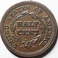 1853 half cent reverse.jpg