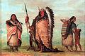 1854 Catlin Sioux Black Rock mit Familie anagoria.JPG