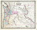 1855 Colton Map of Washington and Oregon - Geographicus - WashingtonOregon-colton-1855.jpg