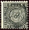 1862 1kr Baden 8 Baden Mi13a.jpg