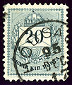 1895 Hodsagh 20kr Issue1881 Serbia.jpg
