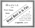 1896 Grand Hotel Madrid advertisement.png