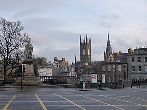 18th Jan 2014- South & St. Nicholas Kirk Spires