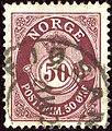1910 50öre Norway Fjøsanger Yv82 Mi87.jpg