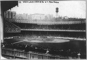 1913 World Series - Image: 1913 world series polo grounds