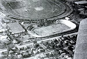 Gil Reese - Fair Park Stadium, place of the Texas game, circa 1922