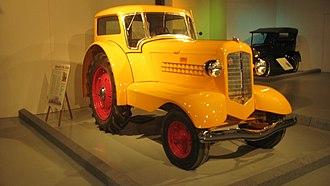 Minneapolis-Moline - Image: 1938 Minneapolis Moline tractor