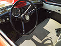 1957 Metropolitan by American Motors in red and white at 2015 Macungie show 3of3.jpg