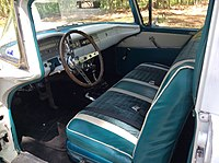 1959, Ford Ranchero interior.jpg
