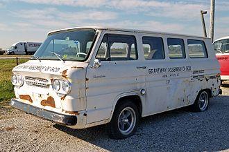 Chevrolet Greenbrier - 1962 Chevrolet Corvair Greenbrier
