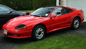 Mitsubishi GTO - Image: 1991 Dodge Stealth RT front left