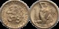 1 koruna CSK (1946-1947).png