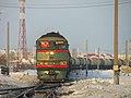 2ТЭ116-201, Россия, Ханты-Мансийский автономный округ, станция Салым (Trainpix 154691).jpg