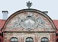 20040626180DR Gützkow (Röckwitz) Rittergut Schloß Monogramm Blücher.jpg