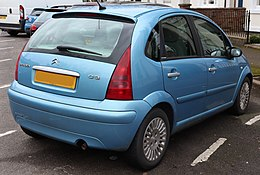 2004 Citroen C3 Exclusive 1.6 Rear.jpg
