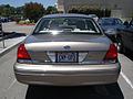 2005 Ford Crown Victoria, Rear.jpg