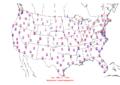 2006-02-19 Max-min Temperature Map NOAA.png