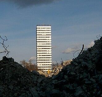Oderturm - Image: 2006 04 Frankfurt (Oder) 46