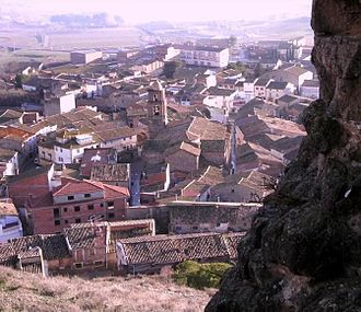 Algerri - View from the castle